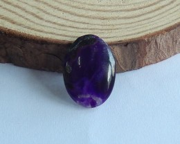 5ct AAA Natural sugilite cabochon bead customized jewelry  (18091596)