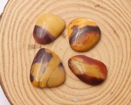 61ct Natural mookite jasper cabochon beads customized jewelry  (18091561)