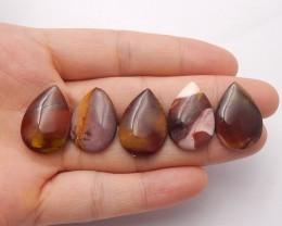 44ct Natural mookite jasper cabochon beads customized jewelry  (18091559)