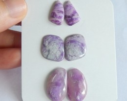 27ct Natural sugilite cabochon beads customized jewelry  (18091563)