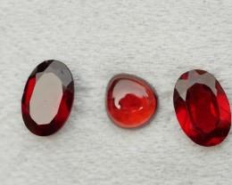 1.35 CRT BEAUTY PAIR RED GARNET-