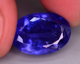 AAA Grade 10.70 Ct Brilliant Color Natural Tanzanite