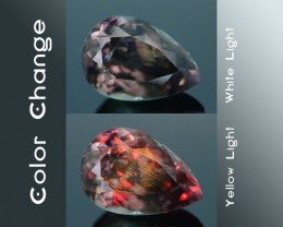 AAA Grade 6.29 ct Turkish Color Change Diaspore SKU.7