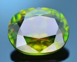 Rare AAA Fire 1.76 ct Chrome Green Sphene Sku-21