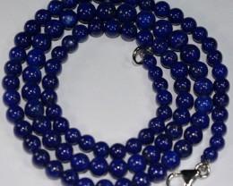 106Ct Beautiful Natural Lapis Lazuli Ball Beads