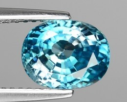 3.40 CT BLUE ZIRCON CAMBODIA Z3