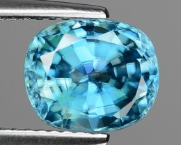 3.78 CT BLUE ZIRCON CAMBODIA Z6