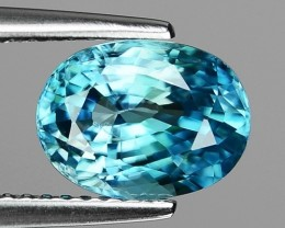 3.68 CT BLUE ZIRCON CAMBODIA Z8