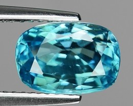 3.75 CT BLUE ZIRCON CAMBODIA Z 10