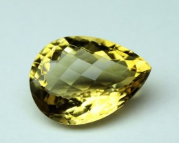 10.30 CT NATURAL CITRINE FACETED GEMSTONE 0013