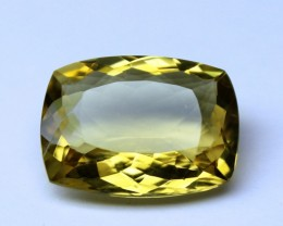 13 CT NATURAL CITRINE FACETED GEMSTONE 0007