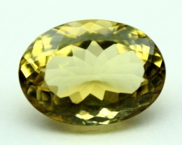 9.40 CT NATURAL CITRINE FACETED GEMSTONE 0022