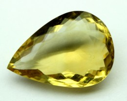 15.90 CT NATURAL CITRINE FACETED GEMSTONE 0023