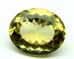 12.80 CT NATURAL CITRINE FACETED GEMSTONE 0031