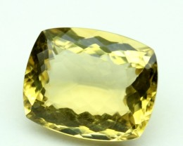 14.40 CT NATURAL CITRINE FACETED GEMSTONE 0036