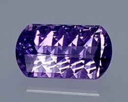 4Crt Amethyst Special cut Best Grade Gemstones JI105