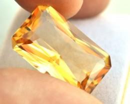 16.00 Carat Citrine -- Very Fine Scissor Cut Stone