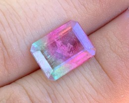 5.80 cts Watermelon Tourmaline - Pink & Green - Brazil $600
