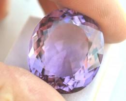 47.47 Carat Amethyst -- Large Oval Cut Stone