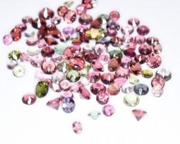 22.75 Crt Tourmaline Parcels Faceted Gemstone (R41)