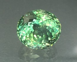 2.71 Cts Green Apatite ~ Excellent Cut and Color ~ Untreated ~ AS12