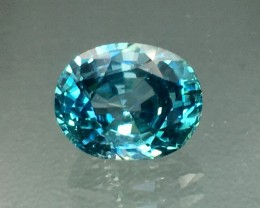 4 Cts Zircon Awesome Color and Cut ~ Cambodia AS12