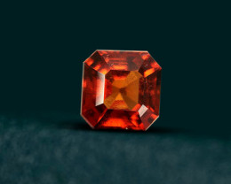 3.10 CT SPESSARTITE GARNET - ASSCHER CUT!
