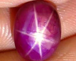 7.27 Carat Fiery Ruby Star - Gorgeous