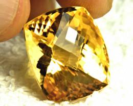 34.95 Carat Vibrant Brazilian VVS Golden Citrine - Gorgeous