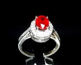 2.02ct Burma Ruby Ring