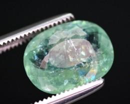 GIL Cert 2.97 Ct Beautiful Color Natural Paraiba Tourmaline