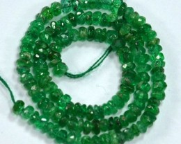 5.35Cts Huge Natural Untreated Colombian Emerald Bracelet 15cm