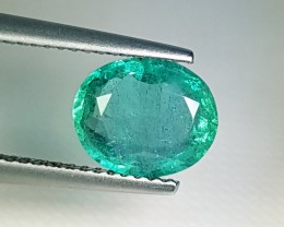 "2.00 ct  ""Top Quality Gem"" Marvelous Oval Cut Top Luster Emerald"