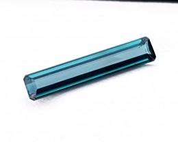 1.90 Ct Natural Blue Transparent Tourmaline Gemstone