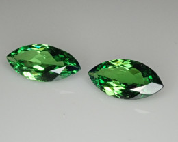 2.32tcwTsavorite Garnet Matched Pair