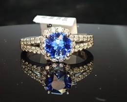 1.38ct Sapphire Ring