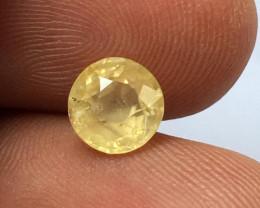 Natural Unheated Yellow Sapphire  Loose Gemstone  Sri Lanka -