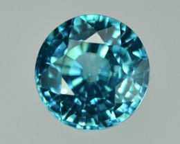 7.56 Cts Fabulous Lustrous Light Blue Zircon