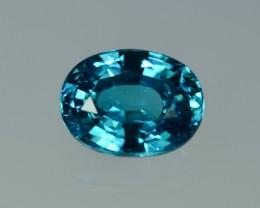 7.80 Cts Stunning Attractive Lustrous Blue Zircon