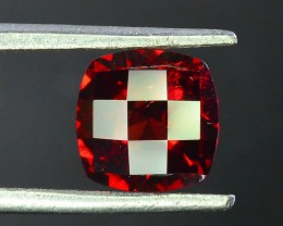 1.80 ct Natural Laser Cut Red Rhodolite Garnet