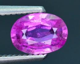 AAA Grade 1.51 ct Unheated Pink Sapphire SKU.13