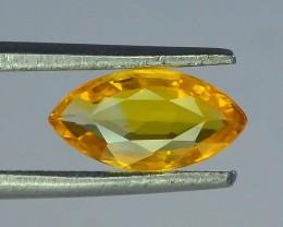 0.840 ct Natural Yellow Sapphire ~ Sri Lanka