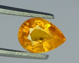 0.940 ct Top Color Yellow Sapphire ~