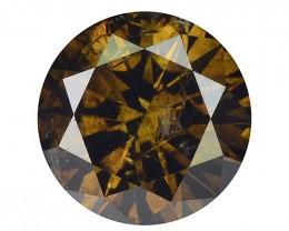 Natural Brown Diamond - 0.53 ct