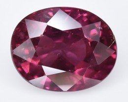 3.80 Crt Rhodolite Garnet Faceted Gemstone (R42)