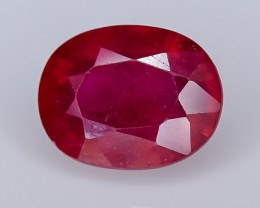 3.35 Crt Composite Ruby Faceted Gemstone (R42)