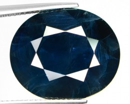 17.30 CT BLUE SAPPHIRE COLLECTING CERTIFIED GEMSTONE