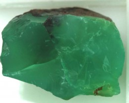 14.20CTS CHRYSOPRASE ROUGH RG-3155