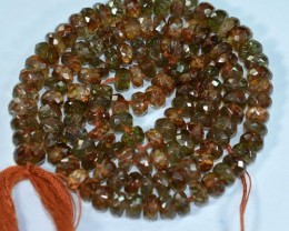 Andalusite Bead Strands