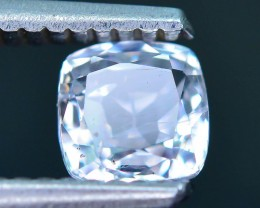1.01 ct  Unheated Sapphire White Sri Lanka SKU.15